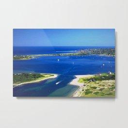 Great Salt Pond, Block Island, Rhode Island Metal Print