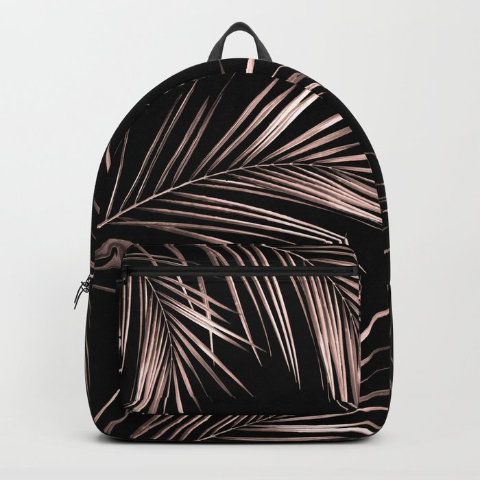Rose Gold Palm Leaves 2 Backpack