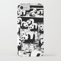 animal crew iPhone & iPod Cases featuring Crew by Panda Cool