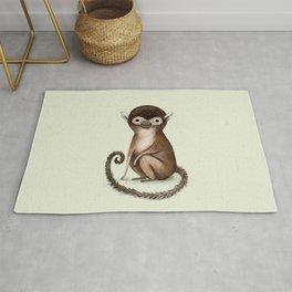 Squirrel Monkey Rug