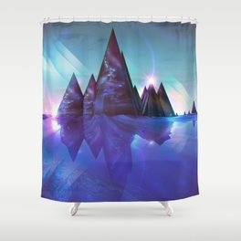 ERROR REFLECTION EGFX23 Shower Curtain