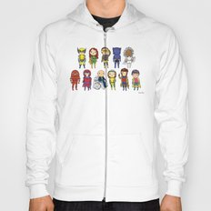 Super Cute Heroes: X-Men Hoody