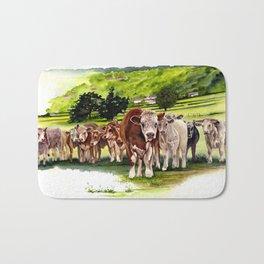 Herd It Throught the Grapevine Bath Mat