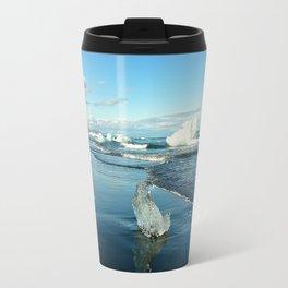 Jokulsarlon Beach II, Iceland Travel Mug