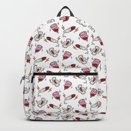 Girl Gang Print Backpack