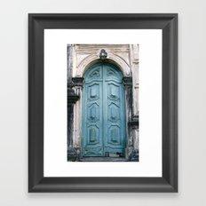 Door 2 Framed Art Print