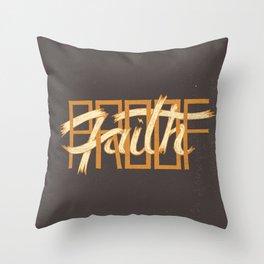 Proof / Faith Throw Pillow