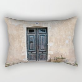 Old fashioned door Rectangular Pillow
