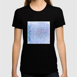 "' Take him and cut him out in little Stars"" Romeo & Juliet - Shakespeare Love Quotes T-shirt"