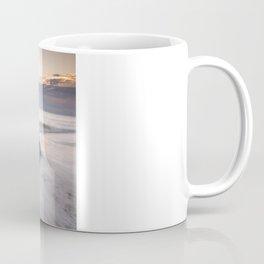 Sunrise at Caistor Windfarm Coffee Mug