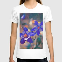Colorado Columbine Flower T-shirt