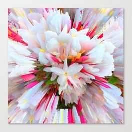 Flowers of  Pure Love Essence Canvas Print