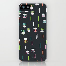 Happiness in Shapes 1 iPhone Case