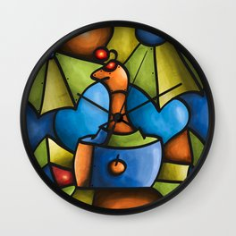 Viuda Negra Wall Clock