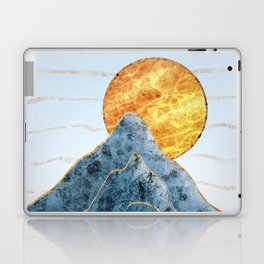 Sunset in the Volcanic Mountains Laptop & iPad Skin