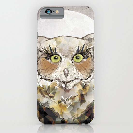 The Great Horned Owl iPhone & iPod Case