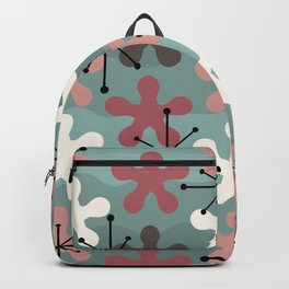 Vintage Splat Pattern Backpack