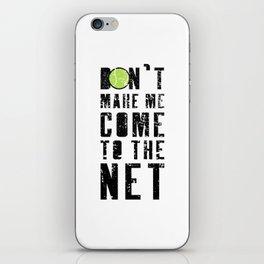 Tennis Tennis Ball Tennis Racket Net Gift iPhone Skin