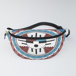 Southwest Native American Art Mandala Fanny Pack
