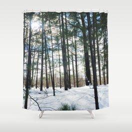 Winter Woods1 Shower Curtain