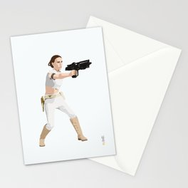 Padme of Star Wars Stationery Cards