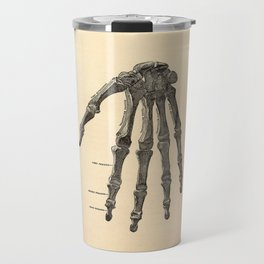 Anatomical Skeleton Hand Travel Mug