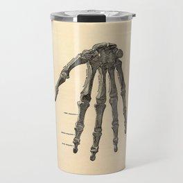 Anatomical Skeleton Hand Travel Mug