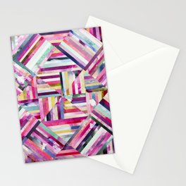 LINEA 040 Abstract Collage Stationery Cards