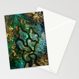 Copper worker by rafi talby Stationery Cards