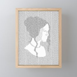 Pride and Prejudice Framed Mini Art Print
