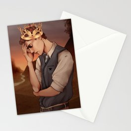 Heavy Lies the Crown Stationery Cards