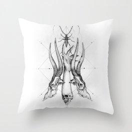Pointillism Throw Pillow