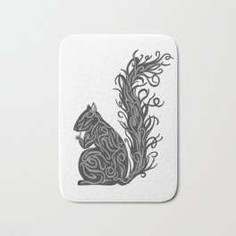Shiny Squirrel Bath Mat