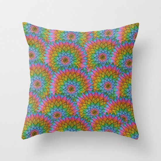 Meditaction Throw Pillow