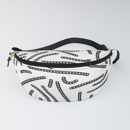 long and short dotted lines Fanny Pack