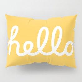 Hello: The Macintosh Office (Yellow) Pillow Sham