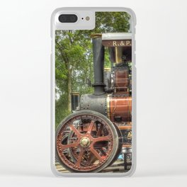 Fowler D5 Road Locomotive Clear iPhone Case
