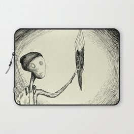 There's Nothing Here Laptop Sleeve
