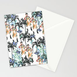 Tropical butterfly Stationery Cards