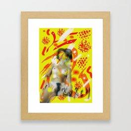 Homage to Balzac n.10 Framed Art Print