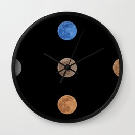 Mooningful full moon Wall Clock