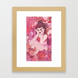 Fancy Was My Name Framed Art Print