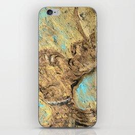Unicorn on clay iPhone Skin