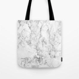 Gray & white faux marble no21 Tote Bag