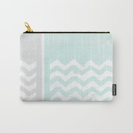 Zig waves 01 Carry-All Pouch