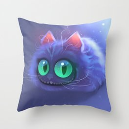 Fluffy Chess Throw Pillow