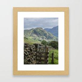 Rannerdale Framed Art Print