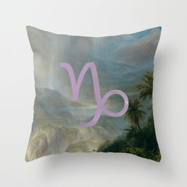 Fine Zodiac / Capricorn Throw Pillow