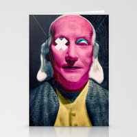 frank Stationery Cards featuring Frank by Alec Goss