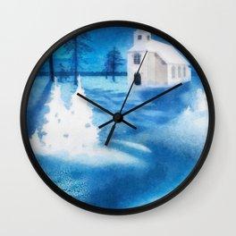 Christmas Serenade Wall Clock